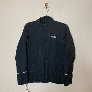 The North Face Black Full Zip Track Jacket